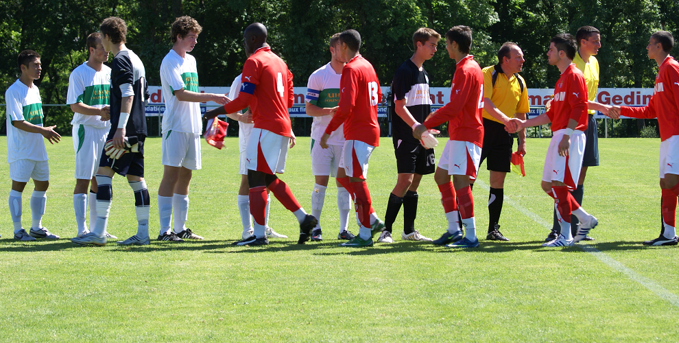TCSR U20 vs AS Monaco in Talence